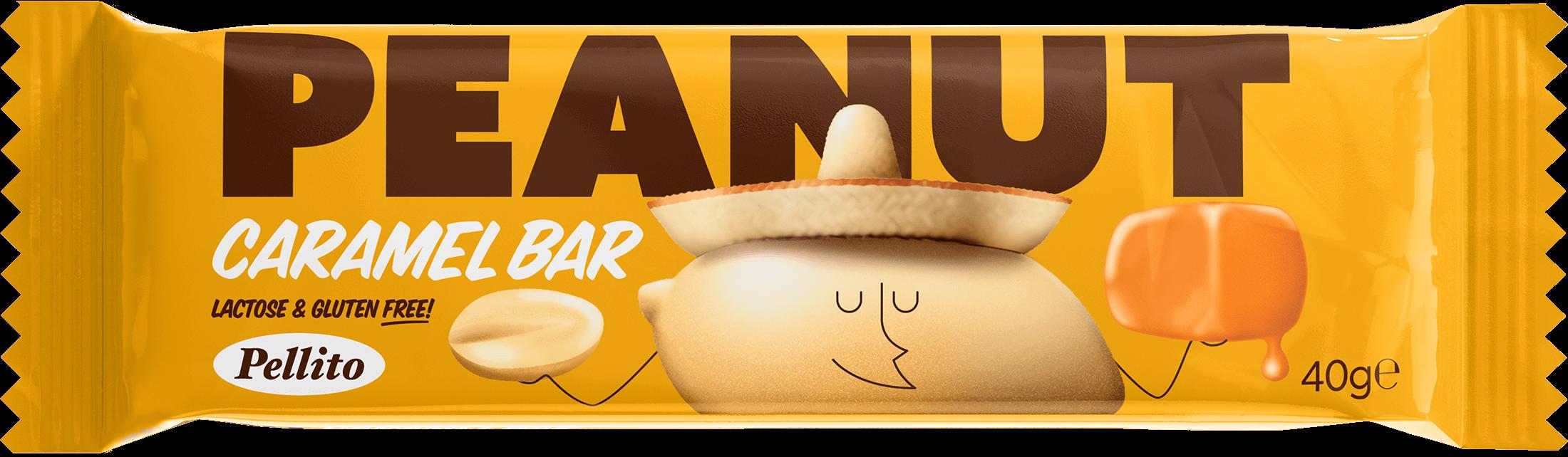 Peanut Caramel Bar